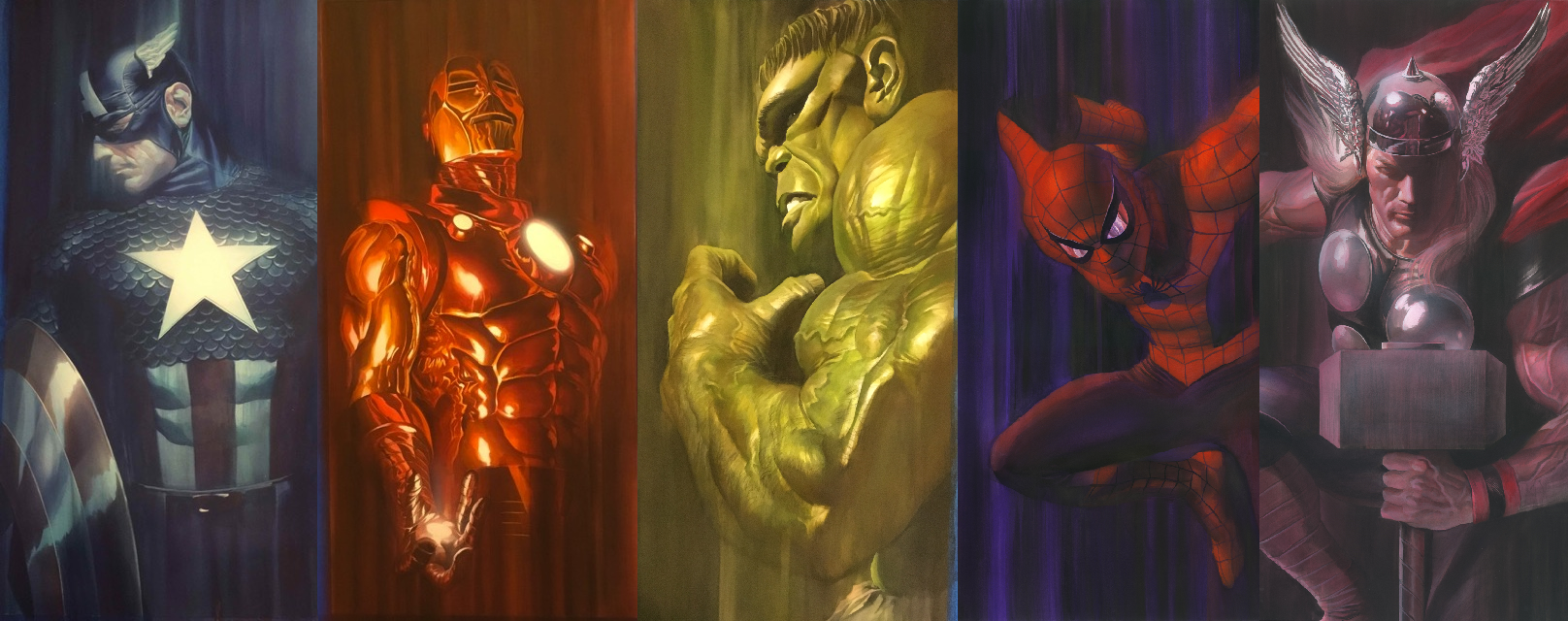 Marvel Shadows Set Alex Ross