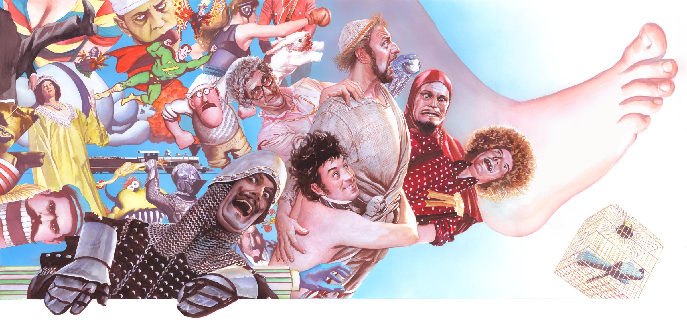 Monty Python Alex Ross