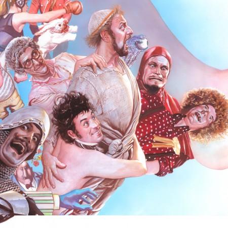 Monty Python Alex Ross art