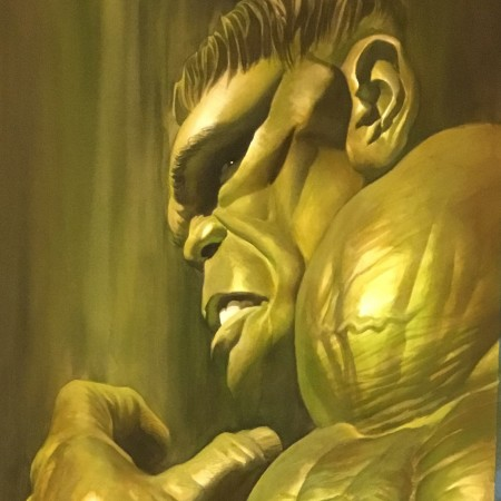 Shadows Hulk Alex Ross
