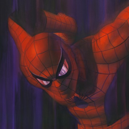 Shadows SpiderMan Alex Ross