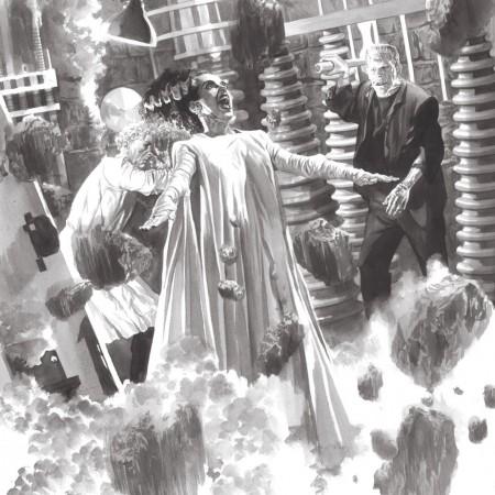 The Bride of Frankenstein Alex Ross art