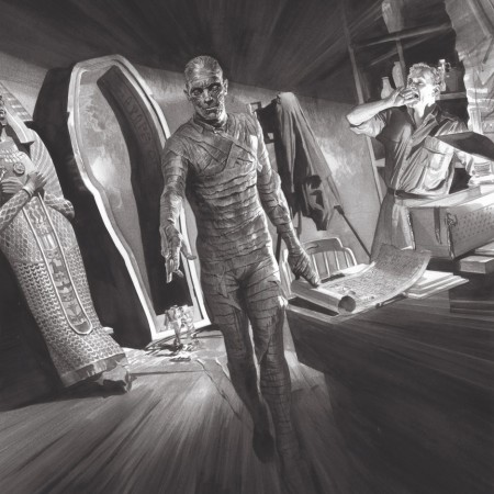 The Mummy Universal Monsters art by Alex Ross