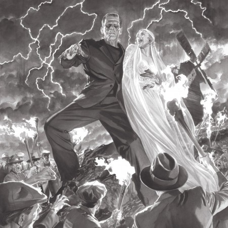 Frankenstein Universal Monsters Alex Ross art