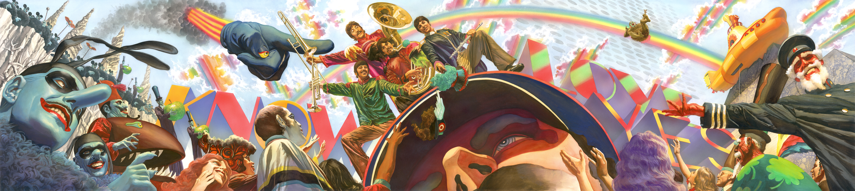 We all live in a yellow Submarine Alex Ross
